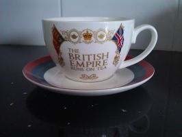 My new Tea cup! by demonlucy