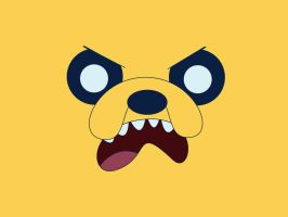 Jake the Dog Desktop Picture by Partack