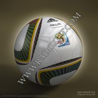 JABULANI ball - 2010 worldcup by radoxist