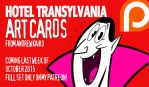 Hotel Transylvania Art Cards Ad 1 by andrewk