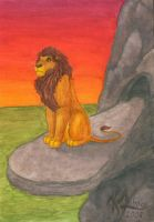 The lion king by Mahogi