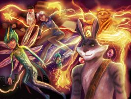 Rise of the Guardians by Honeysucle10
