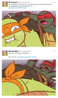 TMNT - Mikey's Twitter by MidoriEyes