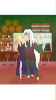 Sannin New Years by Yoziyah