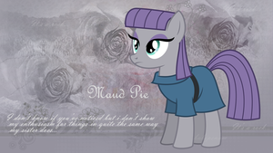 Maud Pie Wallpaper by StarLullaby