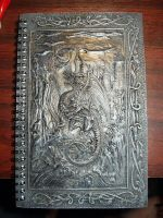 new sketch book--FRONT by virusoverload