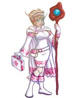 White Mage Looking for Group by Sephrenia0110
