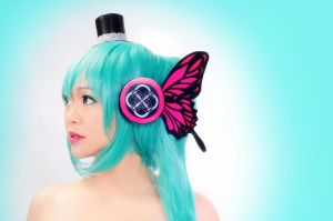 Hatsune Miku by hellsign