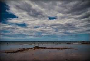 I sat by the ocean by LiveInPix