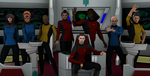 The Crew of the USS Lexington by gx-9901