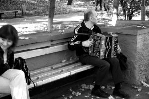 accordion player - garmonist by SoulcrackeD