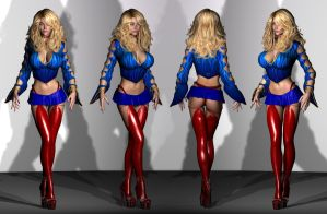 Kyra Milan trying a new costume 02 by WOW-Creations