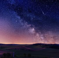 Night in south Moravia by Zubenelschemali
