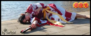 Kagura - a peaceful ending? by Safiriel