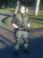Chris redfield Cosplay revelations BSAA by Chris--Redfield
