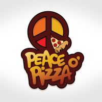 Peace of Pizza logo by huskertim27