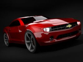 Camero WIP 02 by aash