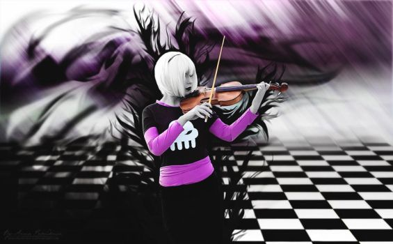 Dark Musician by famous-and-fabulous
