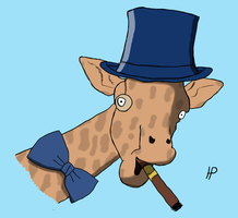 Reddit Request - Sophisticated Giraffe by Morbidi