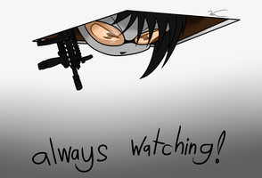 its watching you by Sandwich-Anomaly