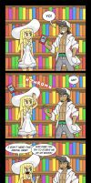 Lillie and Books (Comic + Dub) by Gabasonian