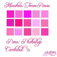 +Muestras para PS: Tonos Rosas by JuEditions