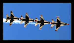 USAF Thunderbirds 2008 by sandwedge