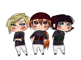 Rowdy Right Boys chibi by jailbaitCAT