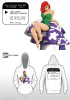 Elf Princess Hoodie by RancidAlice