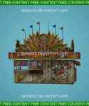 Circus Food Stand - FREE Content by zememz