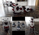 Zoids - Project Blood Cat WIP by IrishWolven