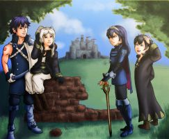 Commission: Fire Emblem Awakening by Card-Queen