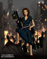 Girlie vs the Zombies by Colourbrand