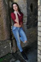Shae - red shirt 3 by wildplaces