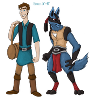 Duality-OCT: Eric and Laertes Full-bodies by WforWumbo