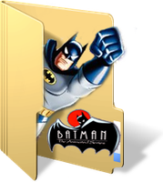Batman Animated Series Folder by GreedLin