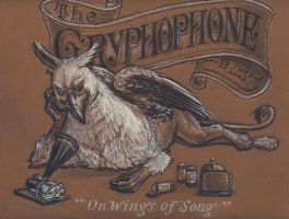 The Gryphophone by LuciusAppaloosius