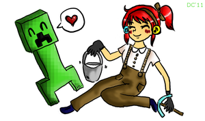 Creepers are my BEST FRANDS by MsPastel
