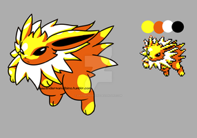 pallete meme challenge - jolteon!- by DasterEndermanalbino
