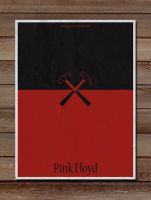 Minimalist Posters:pink floyd by LucasBariani