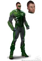 green lantern by marconelor