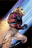 Rocketeer - Naymoon colors by SpiderGuile