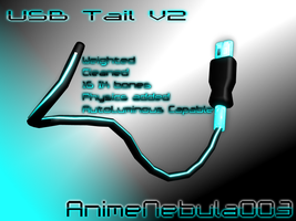 USB Tail V2 - AN003 by AnimeNebula003