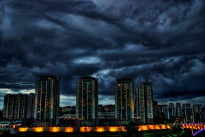 cloudy day HDR by sedefsaydam