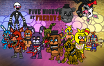 Five Nights At Freddy's Chibi by brunolin