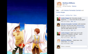 FB Hetalia: Romano's Manly Tears by FB-Hetalia-Roleplay