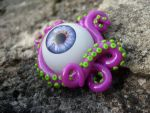 Eyeball and Tentacles by Nathaldron