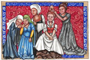 Pennsic Scroll by fainting-goat
