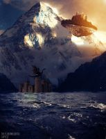The Floating Castle by lakyzzz