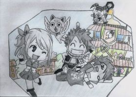 fairy tail, first arc by lea33